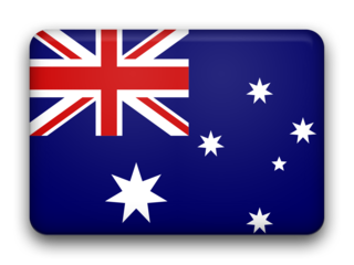 Australia fancy flag 320x240